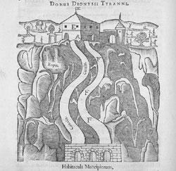 Dispozitiv de amplificare a sunetului în Domul lui Dionysos